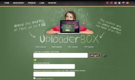 uploaderbox,gratis,programma,hostare file,host,applicazione web