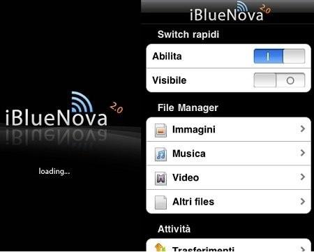 Программа ibluenova для iphone/ipod