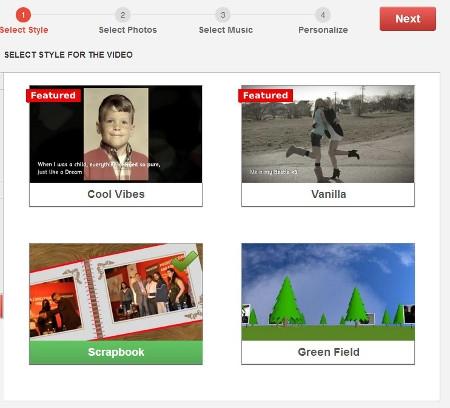 Come creare video con le vostre foto personali for Come creare i miei progetti personali