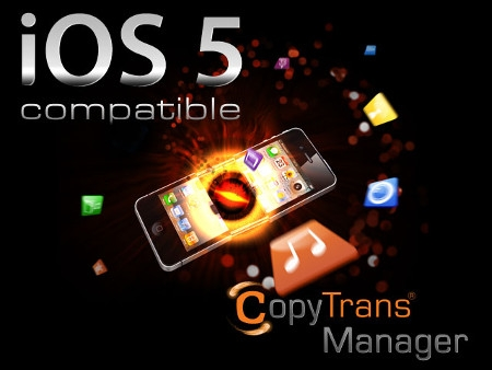 copytrans manager, programma, itunes, iphone,software
