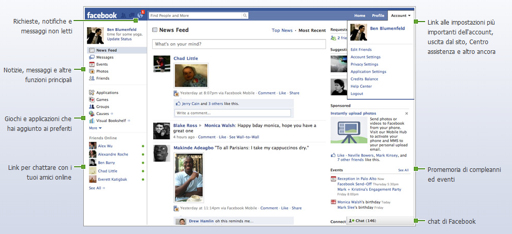 homepage bewertung anmelden facebook